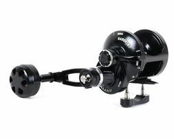 Accurate Boss Valiant 2 Speed TwinDrag Reels - Black