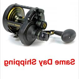PENN FISHING TACKLE FATHOM LEVER DRAG CONVENTIONAL 2-SPEED R