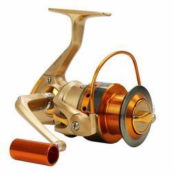 Fishing Reel Foldable Metal Handle Carp Tackles Spool Saltwa
