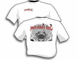 Salt Addiction Fishing t shirt,Saltwater shirt,Ocean,Fish,Cr