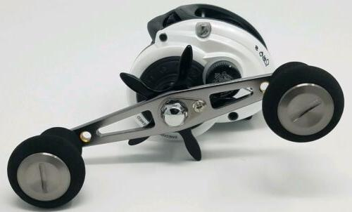Abu Garcia Daiwa Fishing Reel Gunmetal/Red