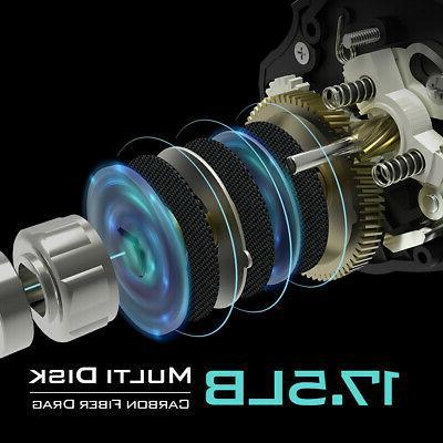KastKing Fishing Reel Dual System 8 KG Drag Baitcaster Reels