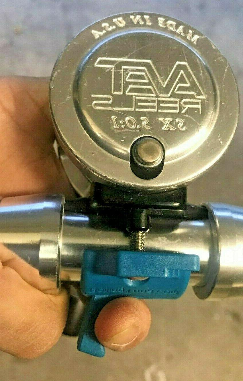 Trigger Clamps, Avet SX, and