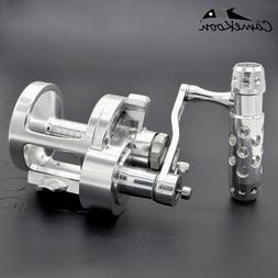 CAMEKOON Lever Drag 2-Speed Big Game Conventional Saltwater