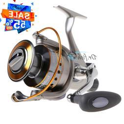 YOSHIKAWA Large Spinning Reel Fishing Baitfeeder Saltwater S